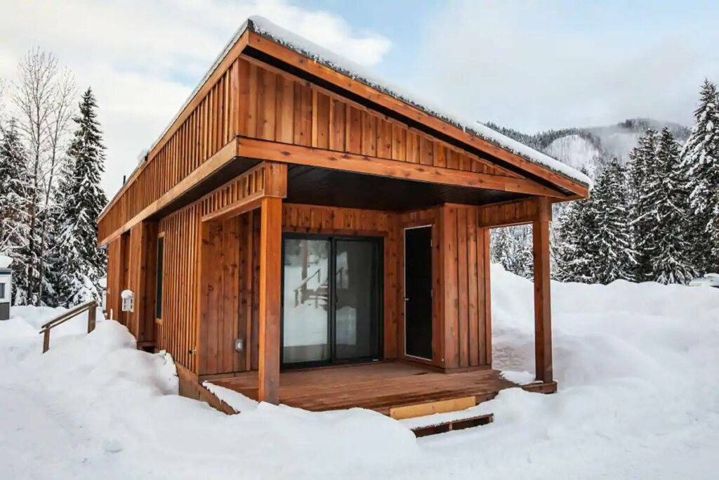 Airbnb Cabins in Revelstoke