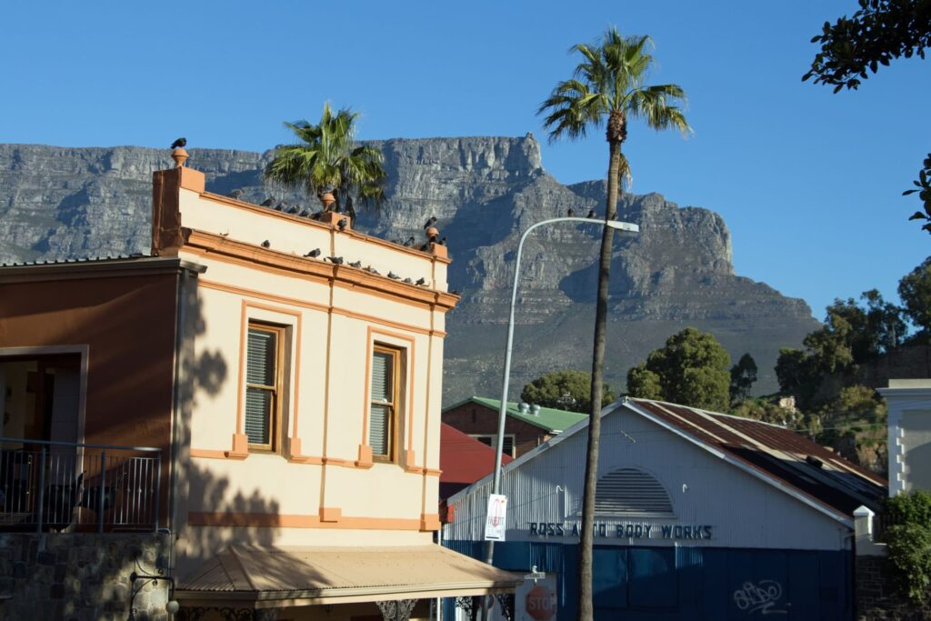 De Waterkant district in Cape Town