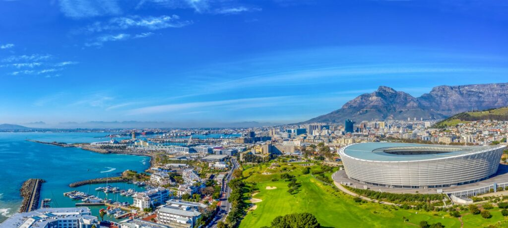 Aerial view on Green Point