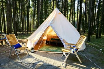 Luxury tent, Jasper