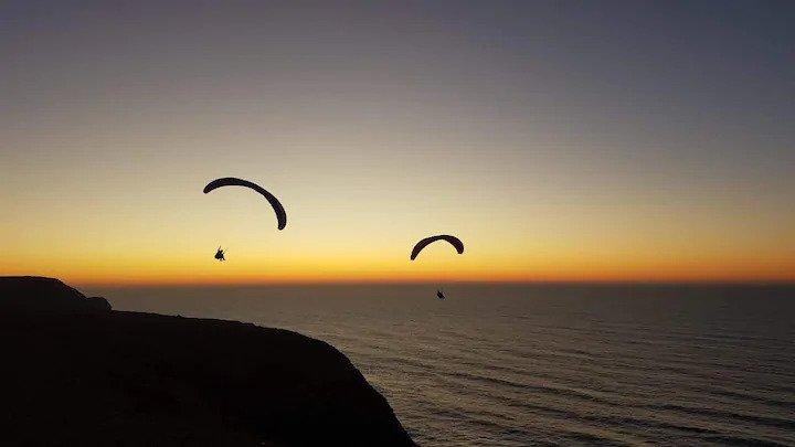 Paragliden Algarve, Airbnb