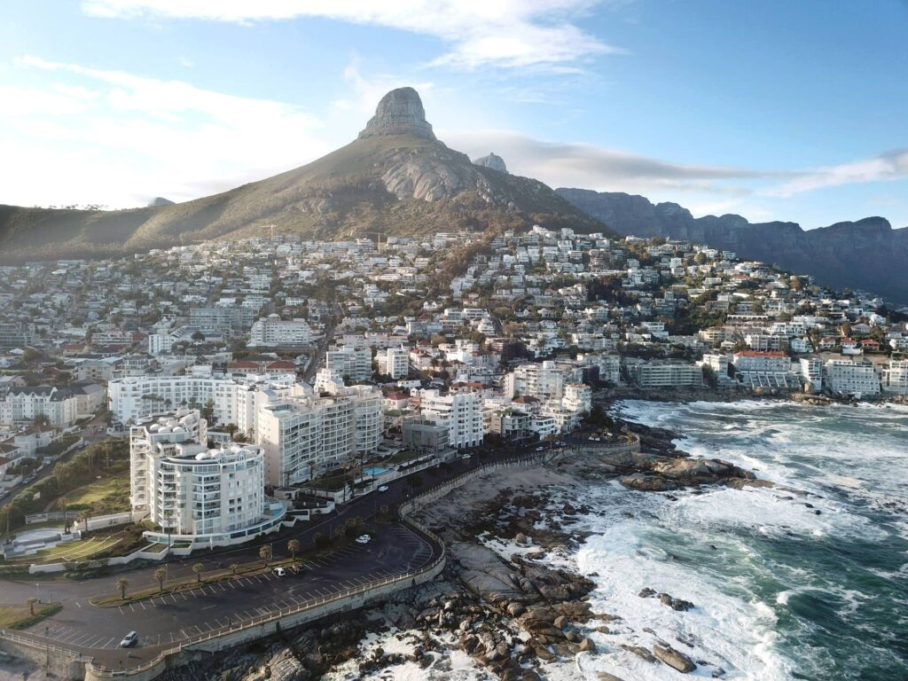 Aerial view on Sea Point