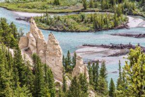 The Hoodoos Banff Canada