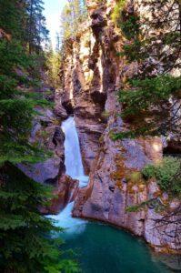 Upper Falls at the Johnston Canyon