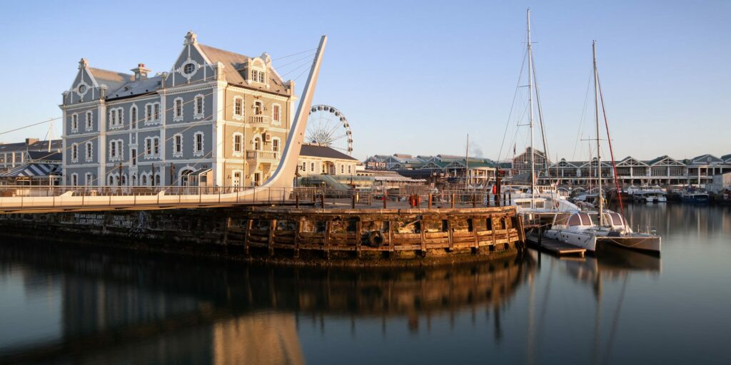 V&A Waterfront, an excellent location to stay in Cape Town