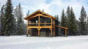 This is a great Airbnb cabin near Golden