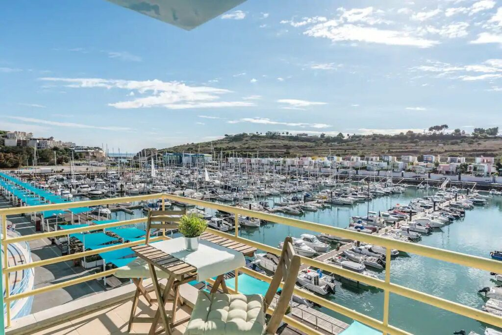 Great Airbnb in the marina of Albufeira