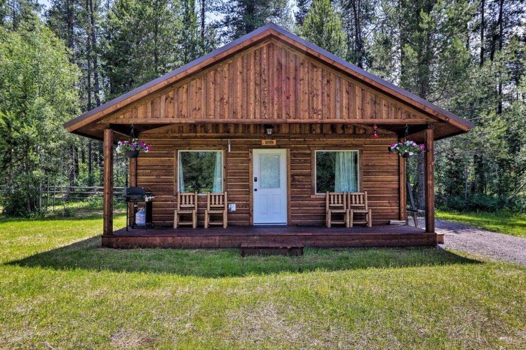 Great cabin near Glacier National Park