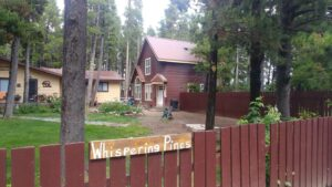 Airbnb in Glacier National Park near the two medicine entrance