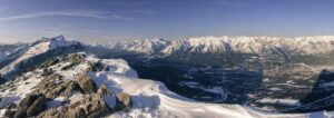 The hike to the top of Ha Ling is for sure one of the best trails in Canmore