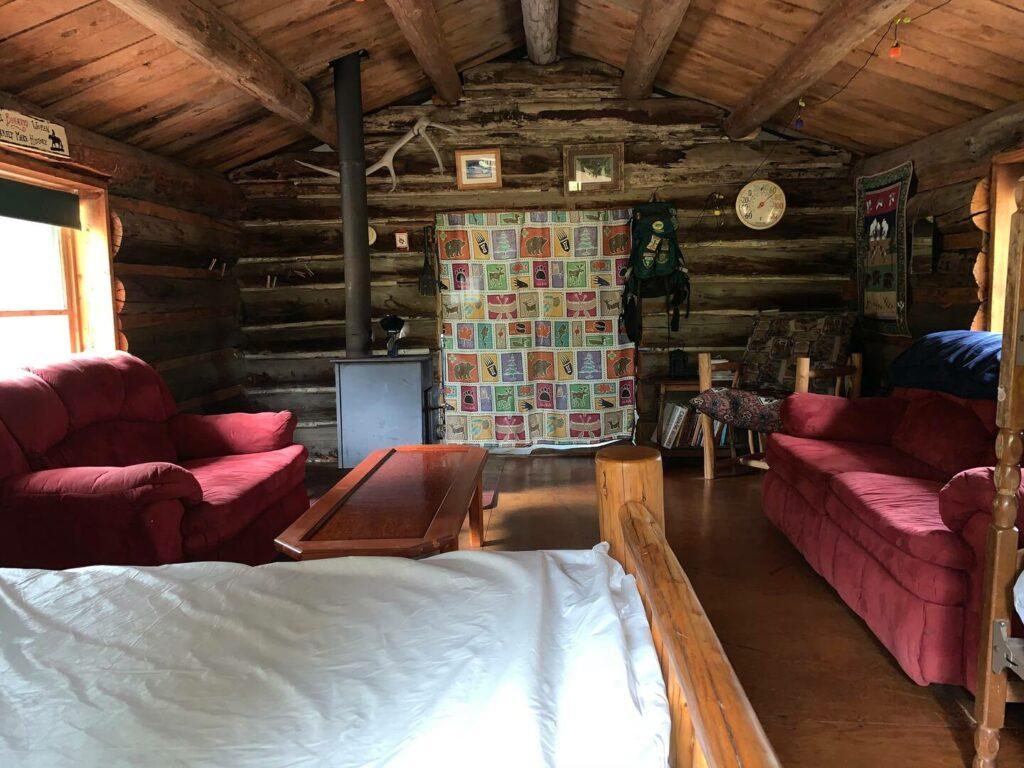 Off-grid cabin near Glacier National Oark