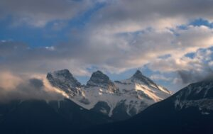 Three sisters Canmore Canada
