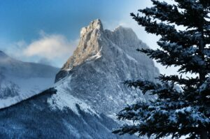 Mount Lougheed in Kananaskis Alberta Canada