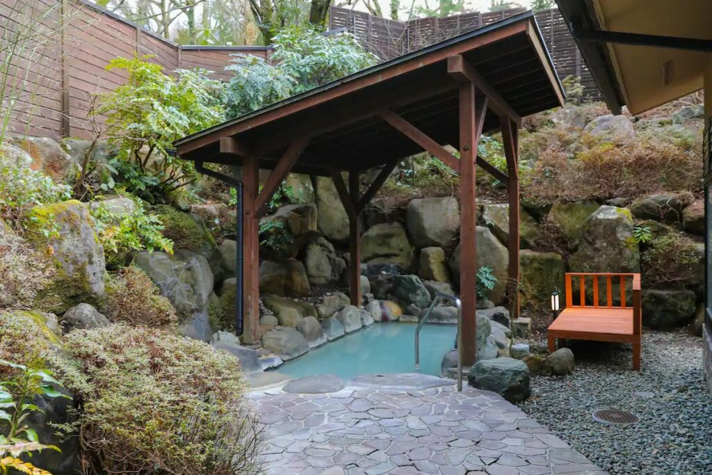 Airbnb in Hakone with private onsen