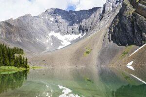 Rummel Lake In Kananaskis Alberta