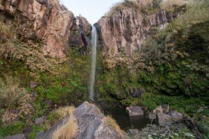 Salto da Farinha in Nordeste on São Miguel Island (Azores)