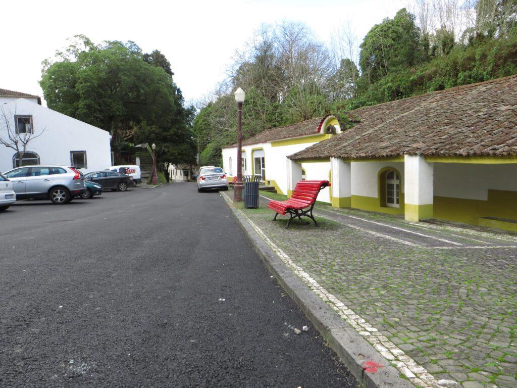 Streetview of the termas das Caldeira in the Azores