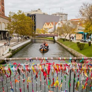 Aveiro is a charming town in Portugal