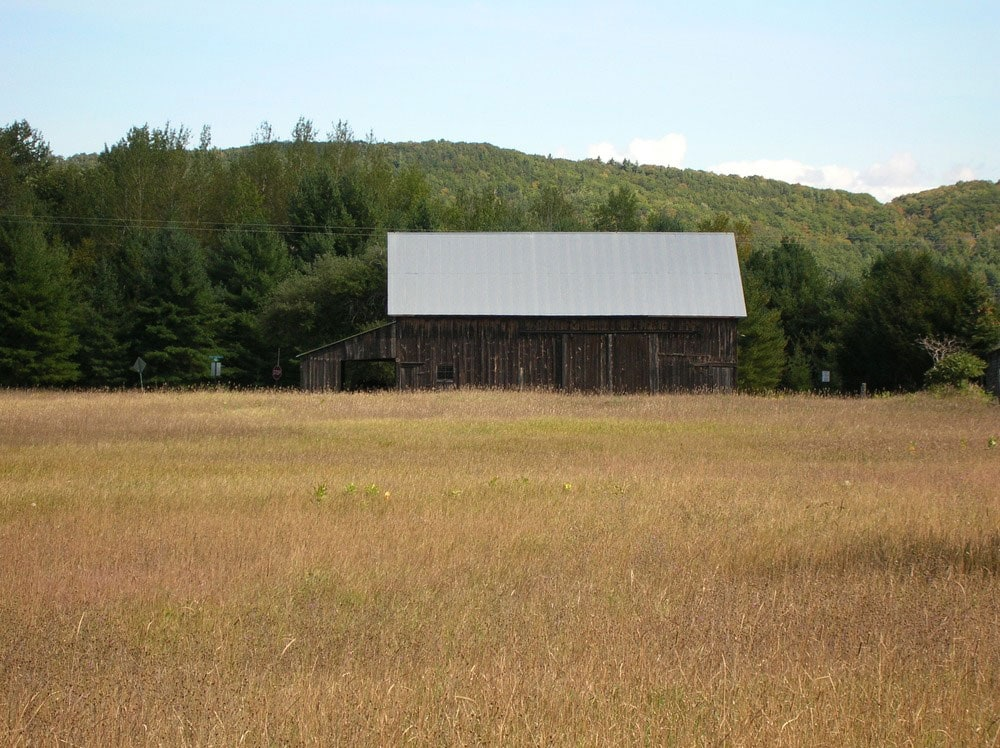 An old farm seen from the Bayview trail in Sleeping Bear Dunes National Lakeshore