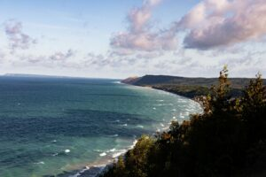 View from the Empire Bluff Trail