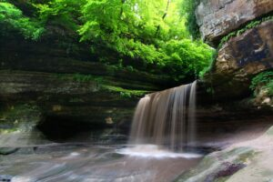 LaSalle Canyon in Starved Rock State Park Illinois