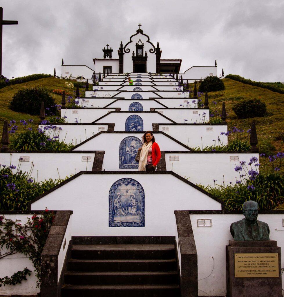 The Nossa Senhora Da Paz chapel on São Miguel Island