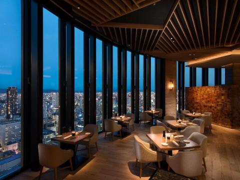 This is one of the coolest hotels in Osaka