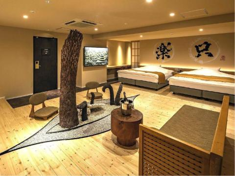 This is a cool place to stay in Osaka