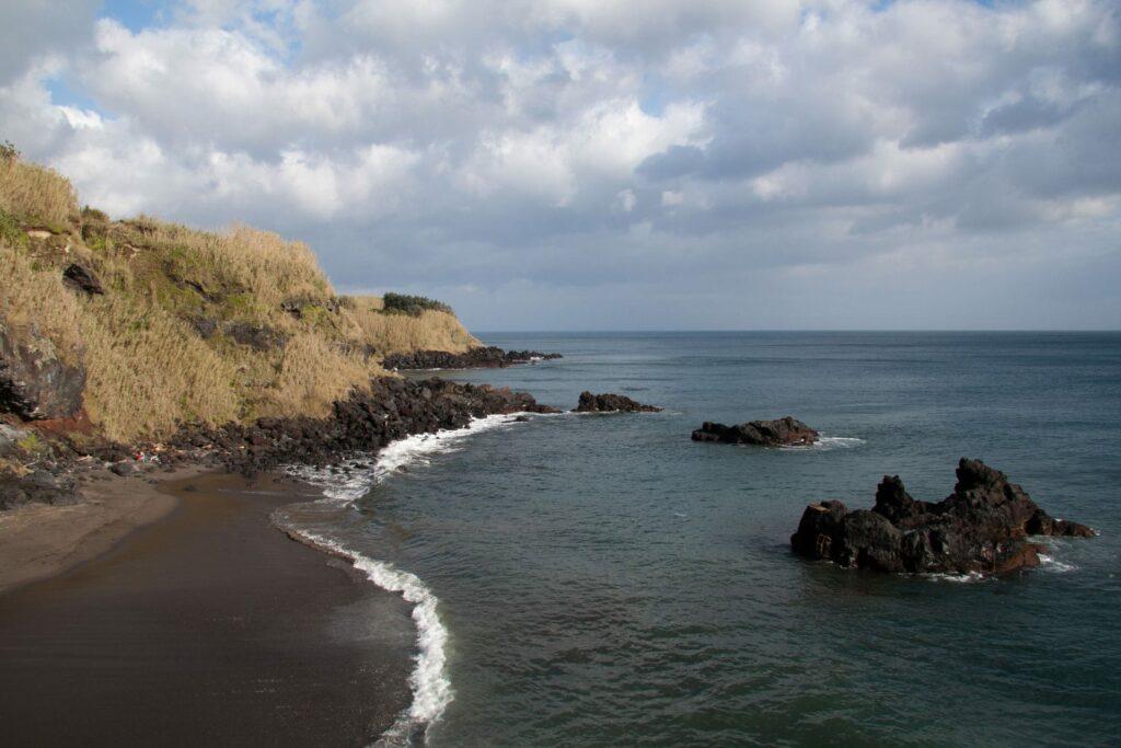 Praia de Ribeira das Tainhas, one of the best beaches on São Miguel in the Azores