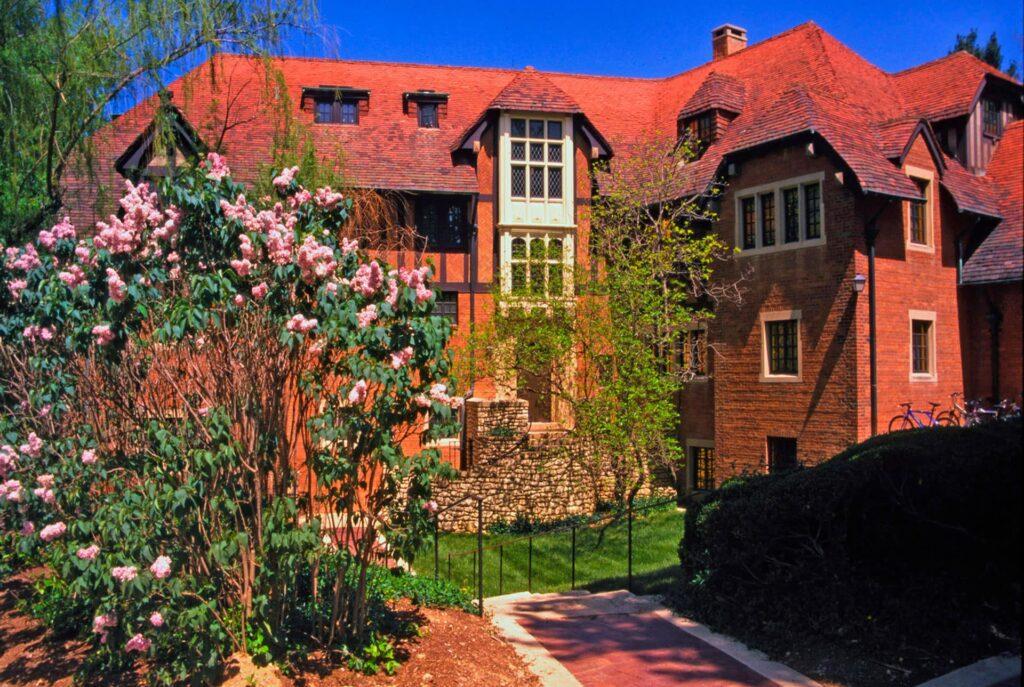 The Anderson Hall of the Principia College in Elsah, Illinois