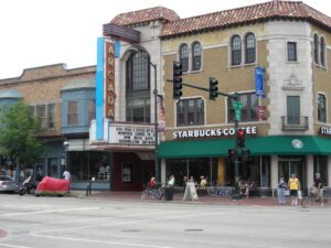 The Arcada Theater Building in St. Charles