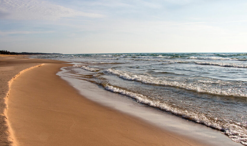 Bohemian Beach in Sleeping Bear Dunes National Lakeshore is one of the best Sleeping Bear Dunes beaches