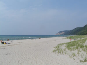 Esch Road Beach Sleeping Bear Dunes National Lakeshore Michigan USA