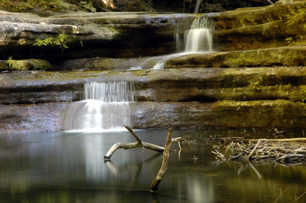 Matthiessen state park, one of Illinois' best state parks