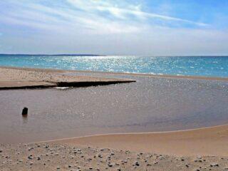 North Bar Lake Outlet Sleeping Bear Dunes National Lakeshore Michigan USA