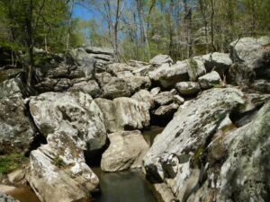The Ghost Dance Canyon in Dixon Springs State Park