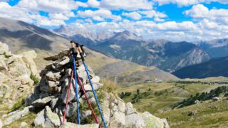 Trekking Poles for mountain hiking
