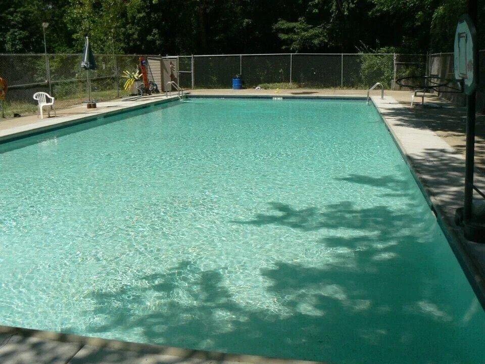 pool near Starved Rock