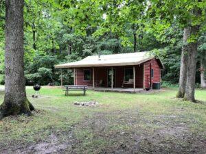 Great Kishauwau cabin