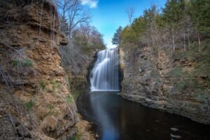 Apple Canyon Lake Waterfall