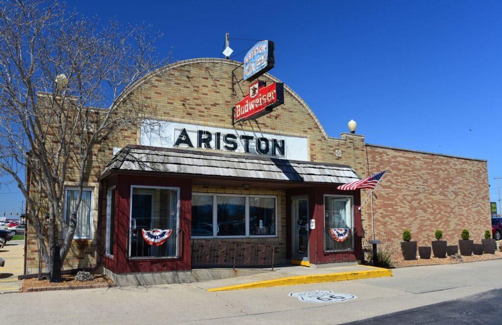 Ariston cafe route66 Illinois
