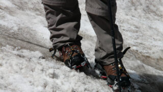 Fleece lined hiking pants for wintry weather