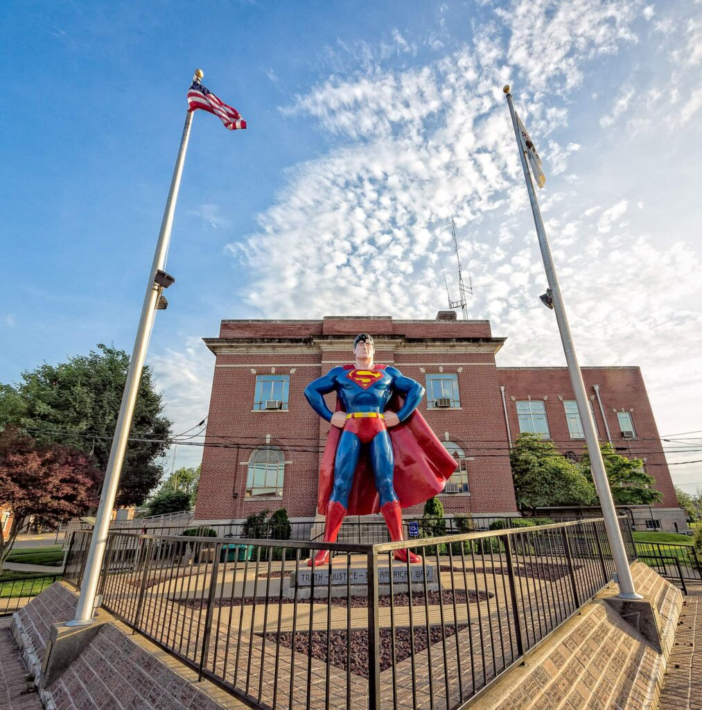 The inhabitants of Metropolis are proud of their hero