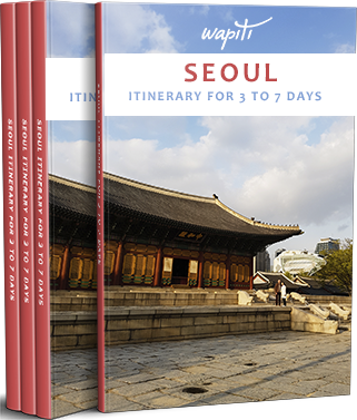 Seoul itinerary ebook cover
