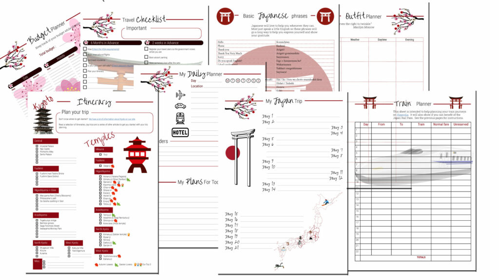Japan Travel Planner preview