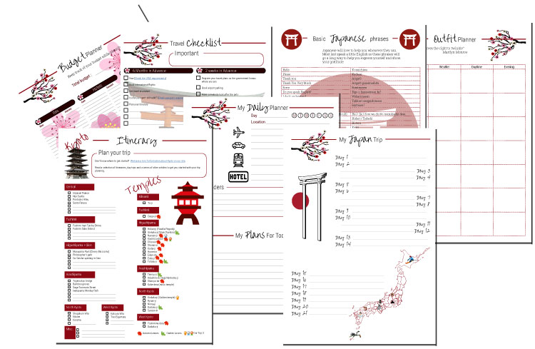 Preview Japan Travel Planner